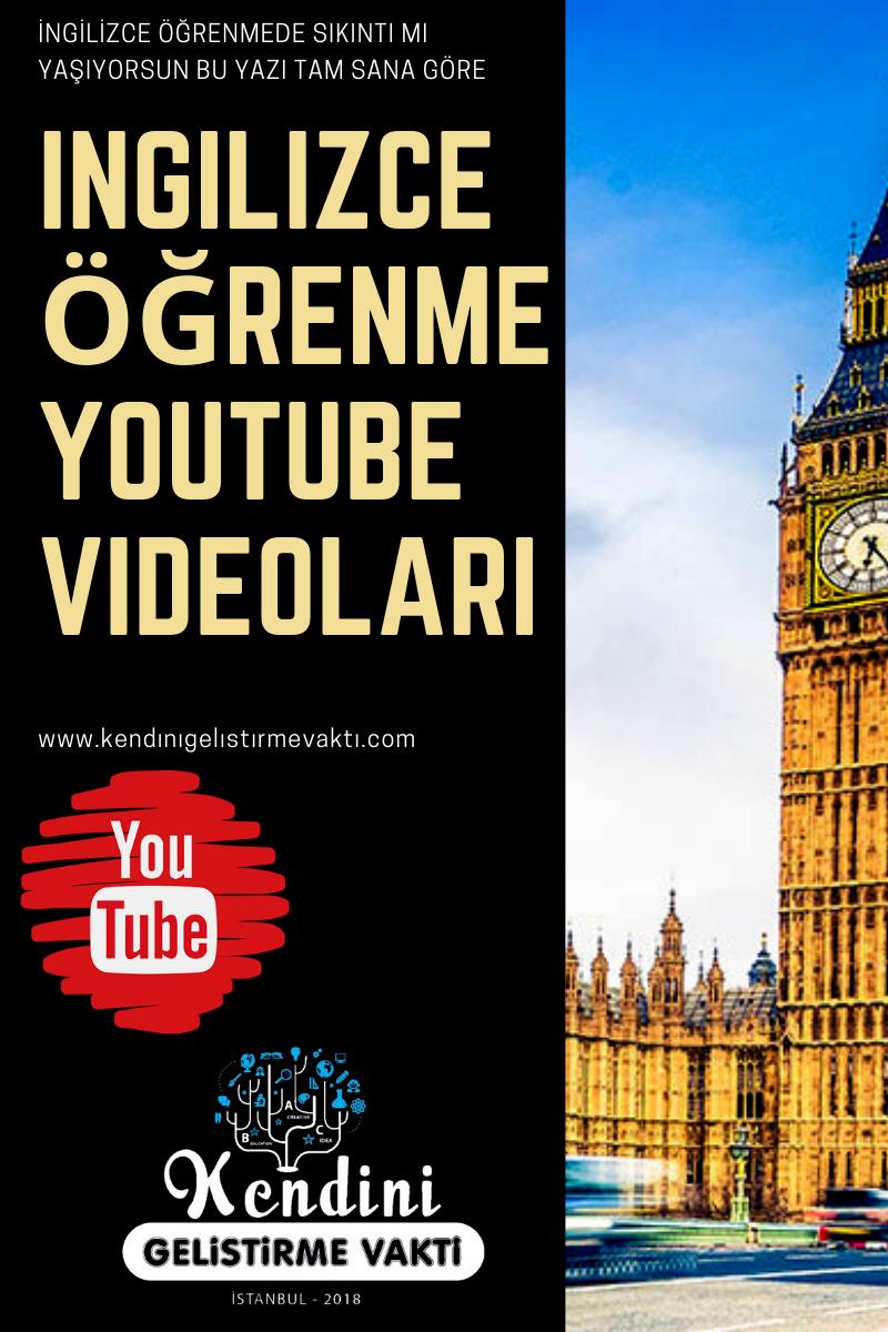 İngilizce Öğrenme YouTube Videoları