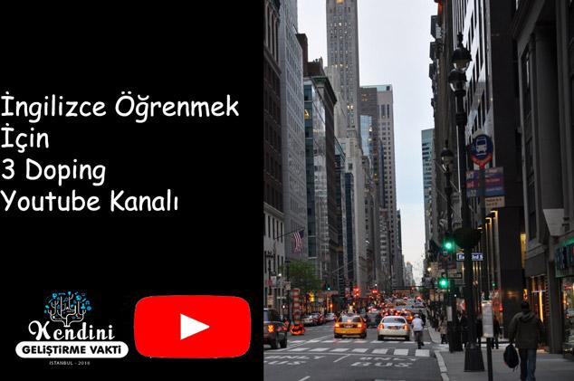 İngilizce Öğrenmek İçin 3 Doping Youtube Kanalı