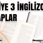 Seviye 3 -Pre intermediate -7 İngilizce Hikaye Kitap Önerisi(Pdf+ses)